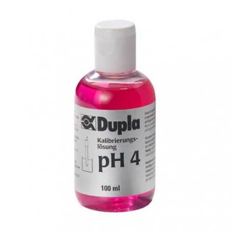 Dupla Solution pH 4 100ml pour Etalonnage