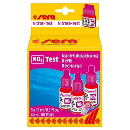 Sera Recharge Test Nitrates 3X15ml