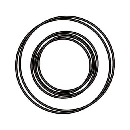 Joints toriques pour système UV-C sera 24 W / 55 W