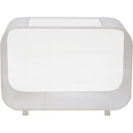 Betta Condo 3,8L Rectangle Blanc