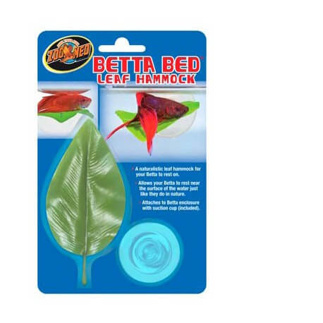 Betta Bed Leaf Hammock ZOOMED