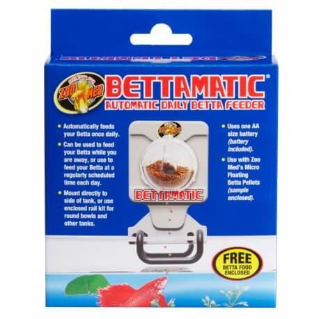 Zoomed BettaMatic Distributeur Automatique