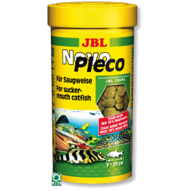 JBL Novo Pleco Chips 250 ml