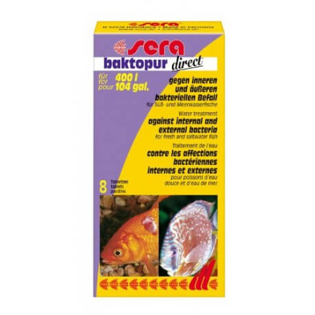 sera baktopur direct 24 Tabs