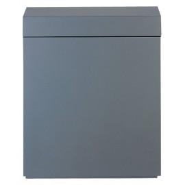 ADA Wood Cabinet 60 (60X30X70) Metallic Silver