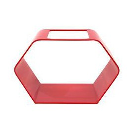 Betta House 7,6L Hexagonal Rouge