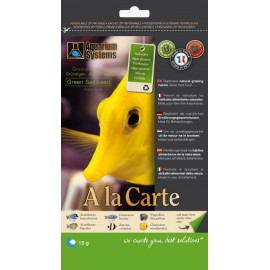 Nourriture A La Carte Green Seaweed 15gr Aquarium Systems