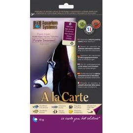 Nourriture A La Carte Purple Seaweed 15gr Aquarium Systems