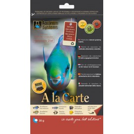 Nourriture A La Carte Herbivore Diet Mini 30gr Aquarium Systems