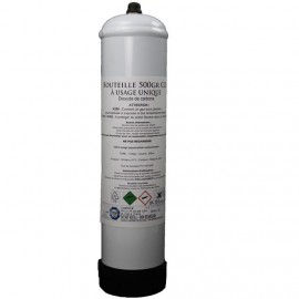 Bouteille CO2 Jetable 500gr Aquaplante