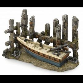 Aqua D'ella Wooden Fence Boat