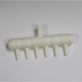 Koiflow Répartiteur en plastique à 6 sorties