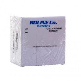 25x sachet d'étalonnage Chlore ROLINE Co.