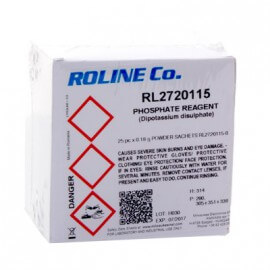 25x sachet d'étalonnage Phosphate ROLINE Co.