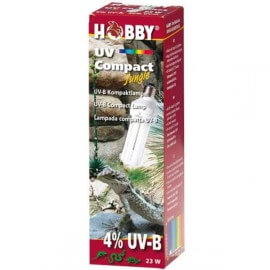 Hobby - UV compact Jungle (4% UV-B) - 23 watt