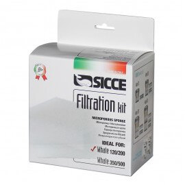 sicce kit de filtration pour whale 120/200