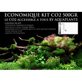Economique Kit CO2 500gr Aquaplante