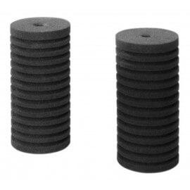 2 éponges de rechange pour filtre BOB MAXI ou autre filtre exhausteur compatible.