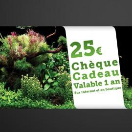 Chèque Cadeau Aquaplante 25€