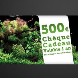 Chèque Cadeau Aquaplante 500€