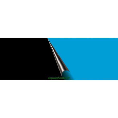 Poster 30X60cm Noir/Bleu