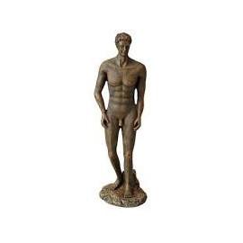 Aqua Della Roman Statue bronze Homme 1