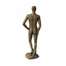 Aqua Della Roman Statue bronze Homme 2