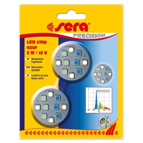 SERA LED chip azur 2W 12V
