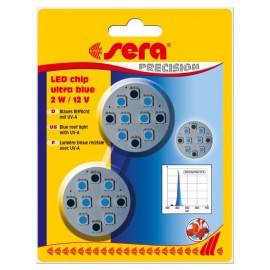 SERA LED chip ultra blue 2W 12V