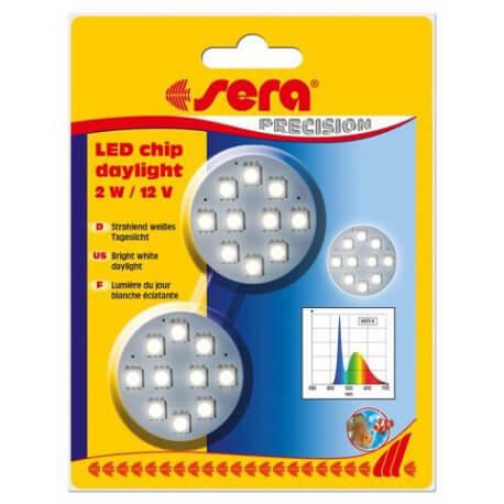 sera LED chip daylight 2 W / 12 V 2 pces