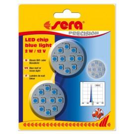 sera LED chip blue light 2 W / 12 V 2 pces