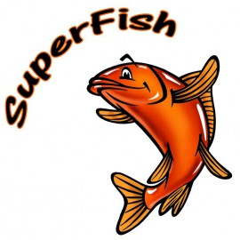 SUPERFISH TOPCLEAR 15000 SET DE MOUSSES 5 PCS
