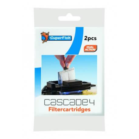 SF CASCADE 4 & 10 CARTOUCHE FILTRATION 2 PCS