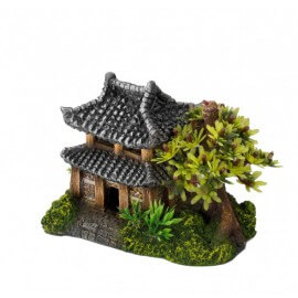 AQUA DELLA ASIAN HOUSE ca.14x9x10cm/with plants