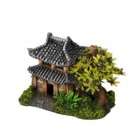 AQUA DELLA ASIAN HOUSE ca.14x9x10cm/with plants