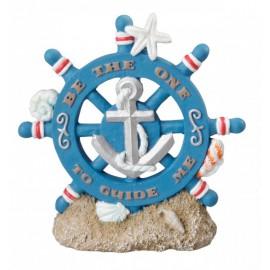 AQUA DELLA SHIP RUDDER ca.9,5x2,5x9,5cm