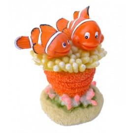 AQUA DELLA CLOWN FISH -5- ca.11x7x8cm