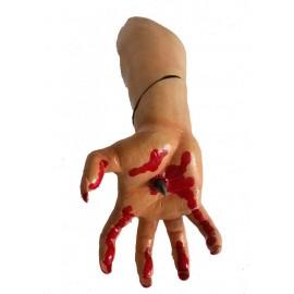 AQUA DELLA MAGNET BLOODY HAND ca.27,5x11,5x10cm