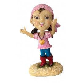 AQUA DELL BABY PIRATE -S- GIRL ca.6,8x5,5x10,5cm