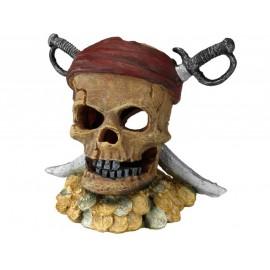 AQUA DELLA PIRATE SKULL SWORD HEAD ca.21,5x16,5x20cm