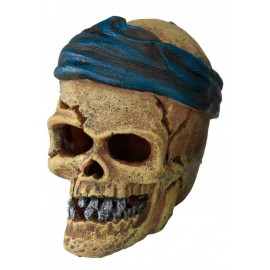 AQUA DELLA PIRATE SKULL HEAD-CRACK ca.7,2x6x7,8cm