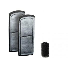 carbon cartridge & sponge NOVA 2xcartridge/1xstrainer sponge