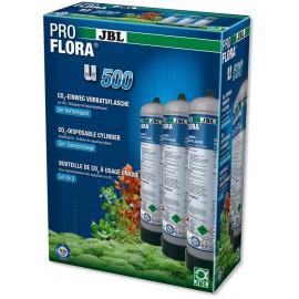 PROFLORA U500 2 3x (bouteille CO2 500g jetable)
