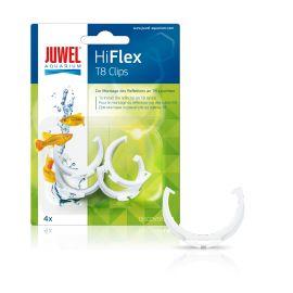 Clips T8 pour réflecteur Hiflex 4pcs JUWEL