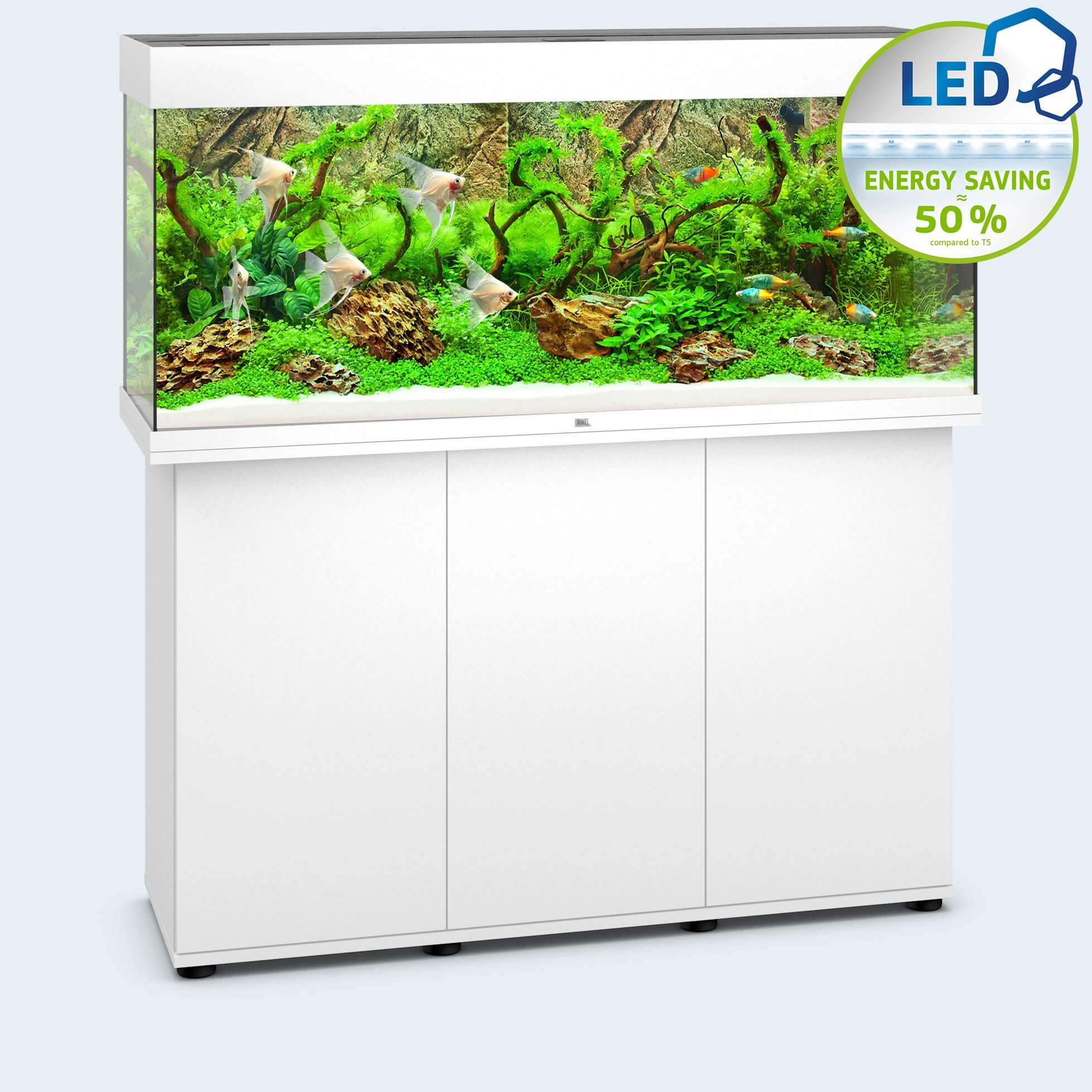 aquarium-juwel-rio-240-led-blanc Frais De Aquarium Table Basse Pas Cher