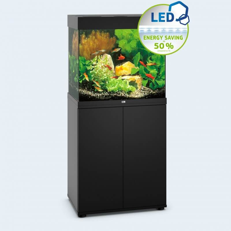 Meuble sbx juwel lido 120 noir for Meuble aquarium 120 cm