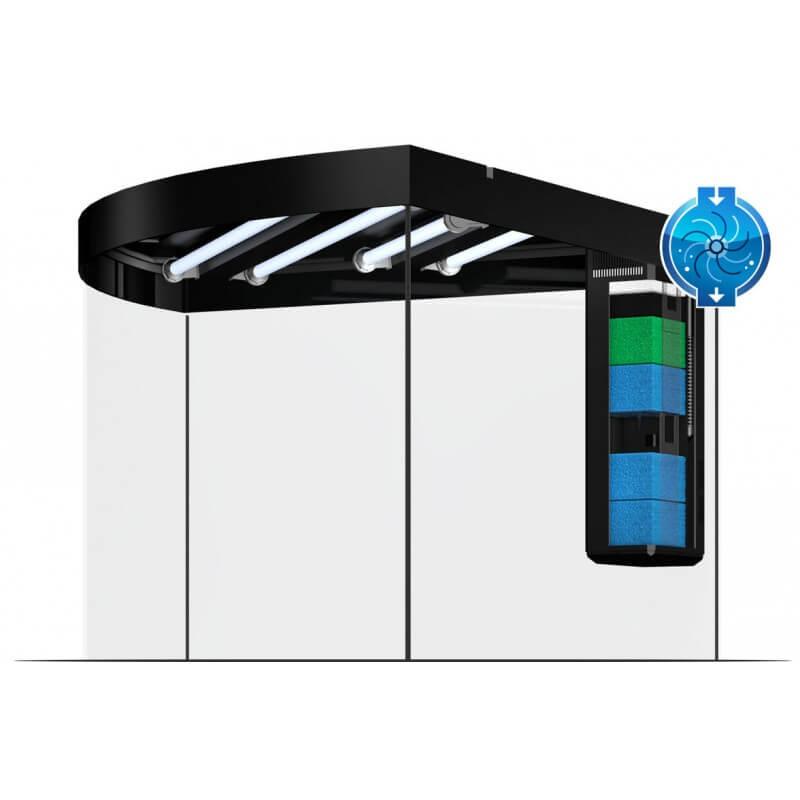 aquarium juwel trigon 350 led noir. Black Bedroom Furniture Sets. Home Design Ideas