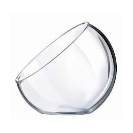 Boule bisotée en verre