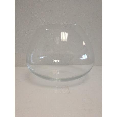 Boule évasée en verre
