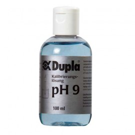 Dupla Solution pH 9 100ml pour Etalonnage